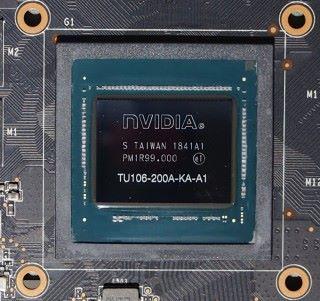 RTX 2060 採用 TU106-200 核心,而 RTX 2070 為 TU106-400 核心。