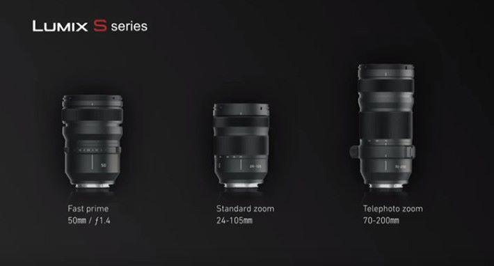 L-mount 鏡頭選擇不多,但因為可選配 Leica SL 鏡頭,所以應該滿足到了大部分用家需要。