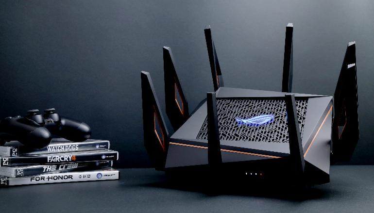 五千元 AX 制式 RGB 電競 Router ASUS ROG Rapture GT-AX11000 開箱實測