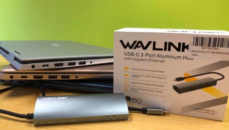WALINK USB-C  3 Port 多功能轉駁器