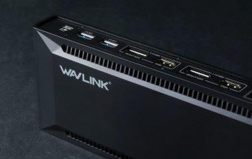 5K 輸出 WavLink DisplayLink USB-C Dual 4k Docking Station