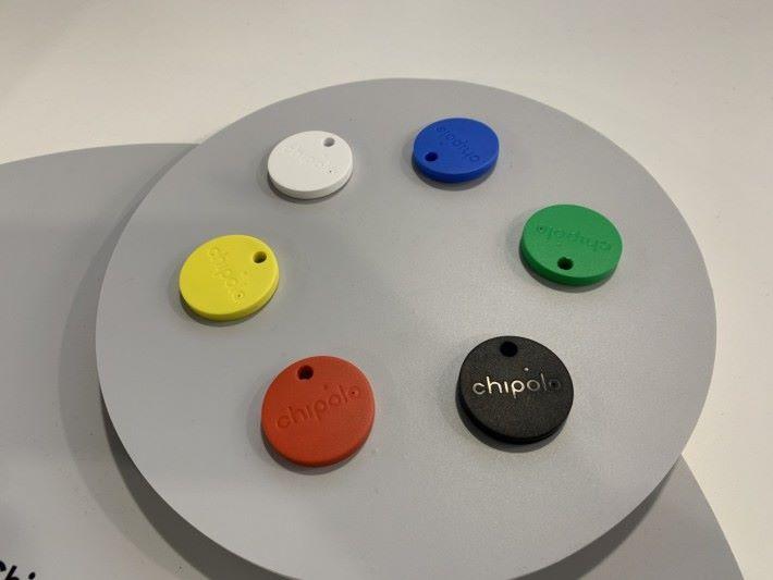 原版 Chipolo CLASSIC(攝於拉斯維加斯 CES)