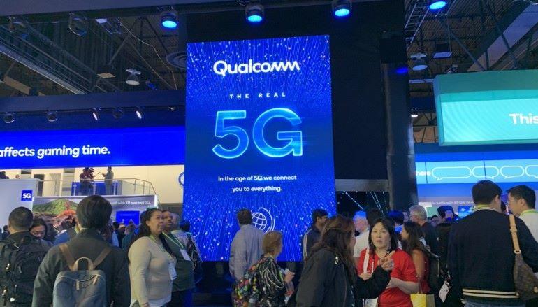 【CES 2019】Qualcomm 展出 5G 原型手機