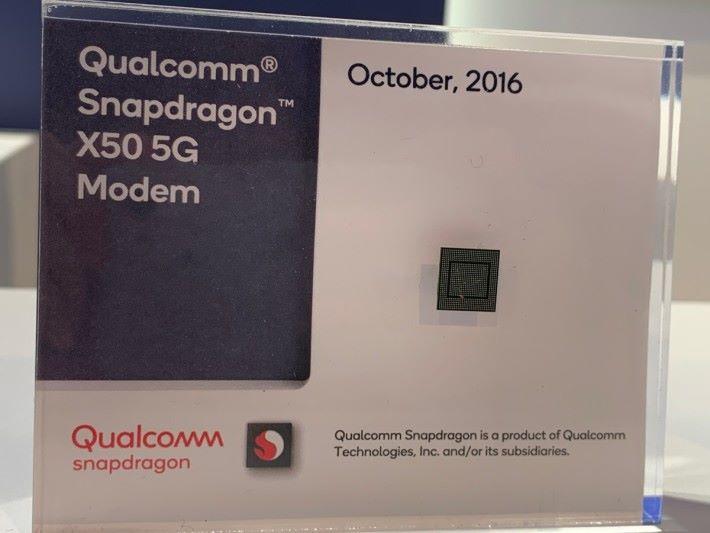 Qualcomm Snapdragon X50 5G Modem 晶片