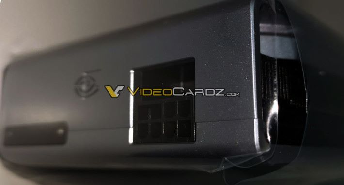 採用 8-Pin 供電。圖片來源:Videocardz