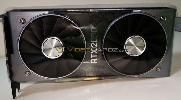 RTX 2060 創始版的設計也是像瓦斯爐。圖片來源:Videocardz