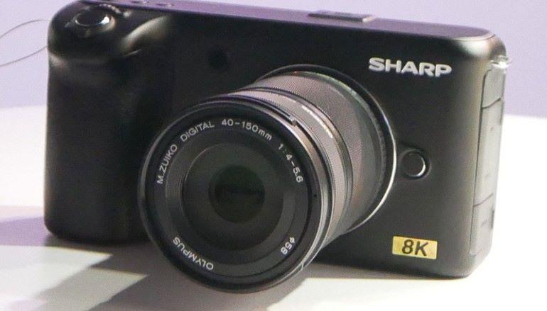 【CES 2019】SHARP 推出民用 8K 攝影機 賣點是用 M4/3 鏡頭