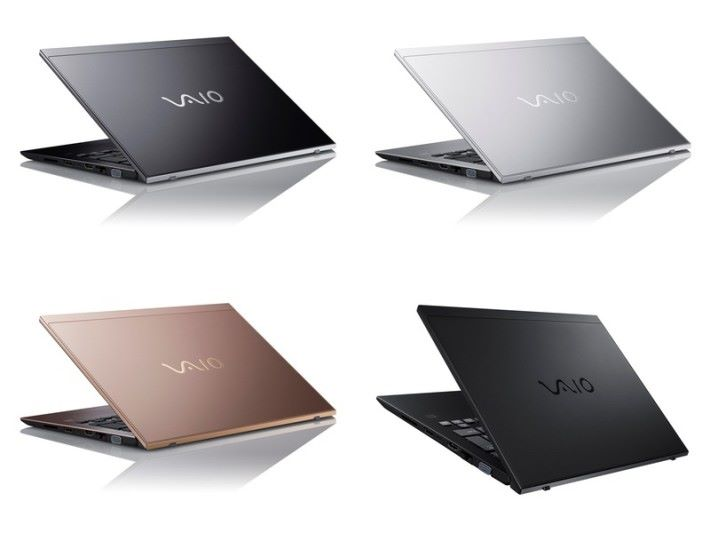 SX14 會有 4 款顏色選擇,包括右下角的 All Black Edition