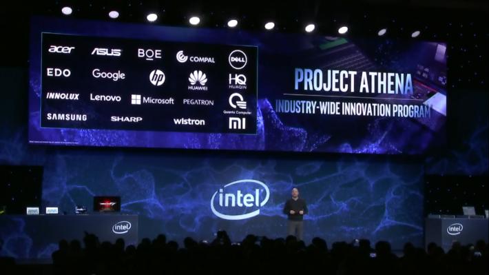 為了推動 AI 等新技術發展,Intel 推出 Project Athena 計劃,期待有如當初 Ultra-thin Notebook 計劃的效果。