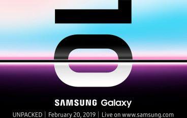 跳出 MWC?Samsung 2 月20 發布 Galaxy S10