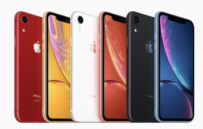 2019 年的 iPhone XR 或許會成為 Apple 最後一款採用 LCD 屏幕的旗艦手機