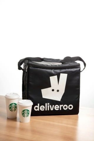 Starbucks Partners with Deliveroo to Launch Delivery Service