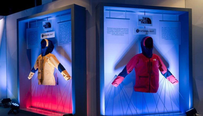 【CES 2019】更舒適更透氣 The North Face 發表全新衣服防水面料 FUTURELIGHT