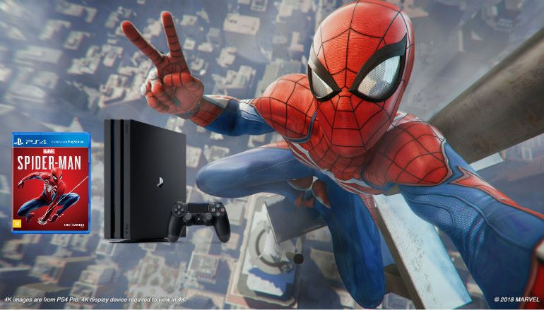 PS4 銷量突破 9160萬、《 Marvel's Spider-Man 》銷量邁向 1千萬!