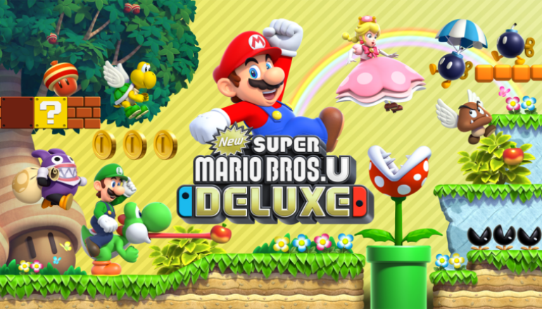 《 New Super Mario Bros. U Deluxe 》正式推出 二合一勁抵玩!