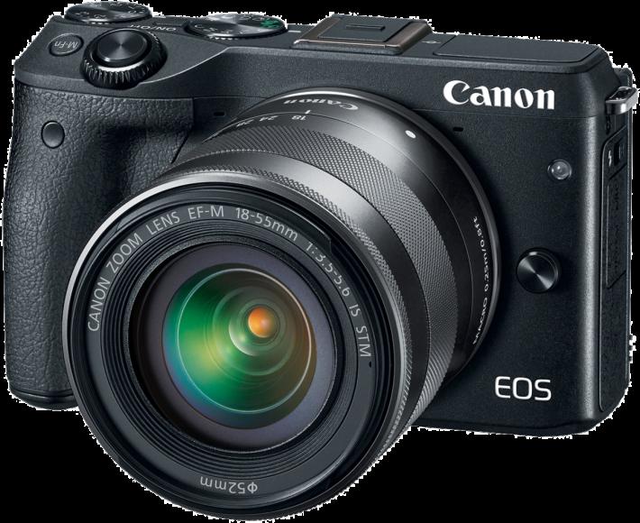 外型和 Canon M 系列無反很相似。