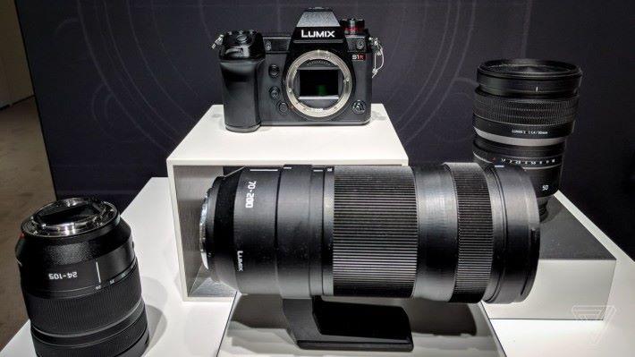Lumix S1R 及三支新鏡頭