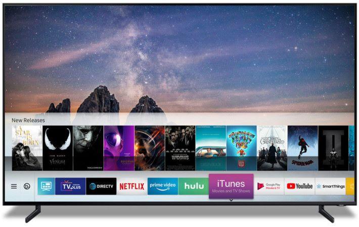 Samsung 新一代電視將支援 itunes 播放