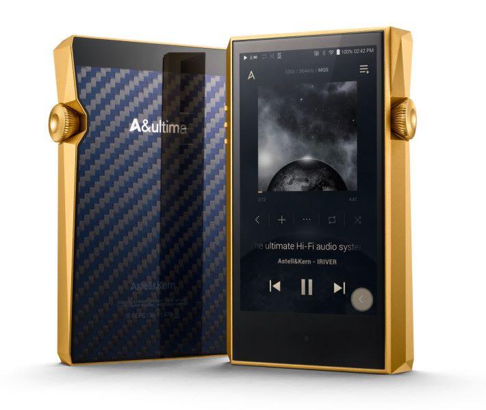 外觀耀眼的 Royal Gold 版不單更靚聲,內置容量也提升至 256GB。