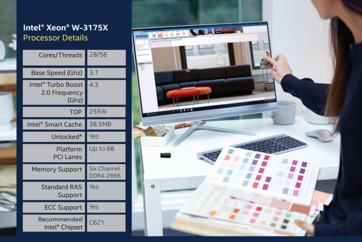 Xeon W-3175X 規格