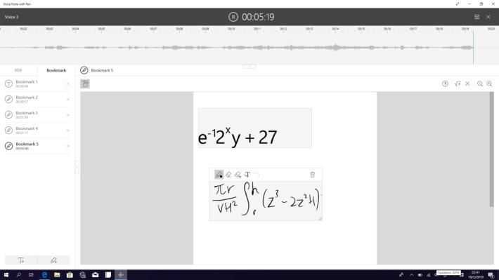 強大的算式轉換功能~我的算式寫得東歪西倒。