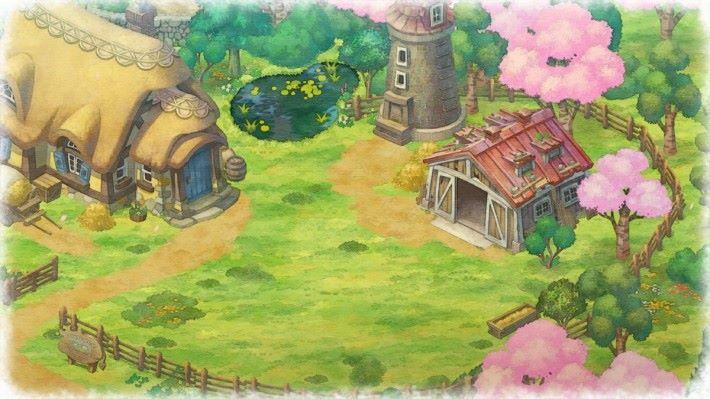 今次遊戲的城鎮「萬物鎮」。