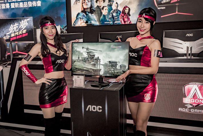 同埸亦展出有 U2790PQU 的QHD 屏幕。