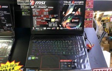 【場料】加多 $4,000 玩 RTX 2070 MSI GE63 RAIDER RGB 8SF 兼有 144Hz