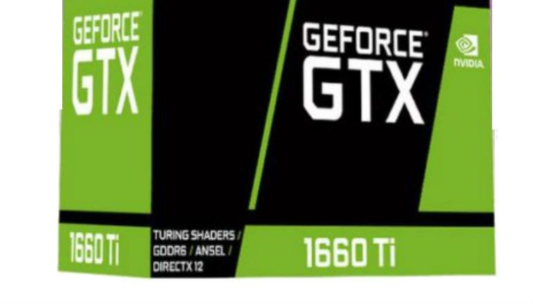 GTX 1660 Ti 顯示卡包裝盒曝光 傳聞 2 月 22 日發表