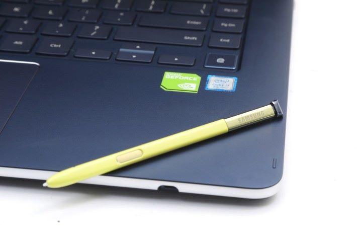 具備 Notebook 9 Pen 的 S Pen,反應速率比上一代快 2 倍。