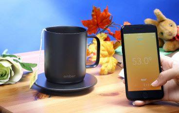Ember 溫度控制陶瓷杯 由身暖入心