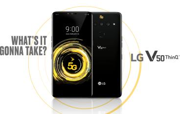 【MWC 2019】打孖上 LG V50 ThinQ G8 ThinQ 一同現身