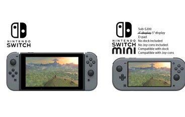 更輕巧更方便攜帶 Nintendo Switch mini 2019 登場 ?