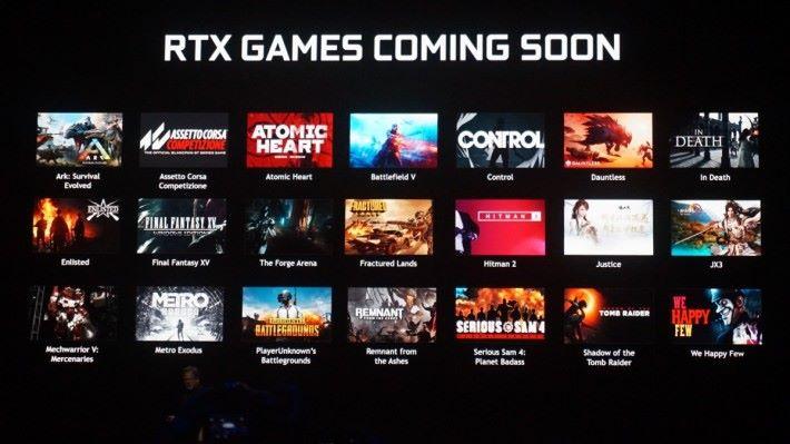 NVIDIA 於去年的發表會預告多款支援 Ray Tracing 的遊戲。雖然不是所有遊戲都用 UE 編寫,但 UE 平台支援 Ray Tracing,就方便大大小小的遊戲支援此功能。