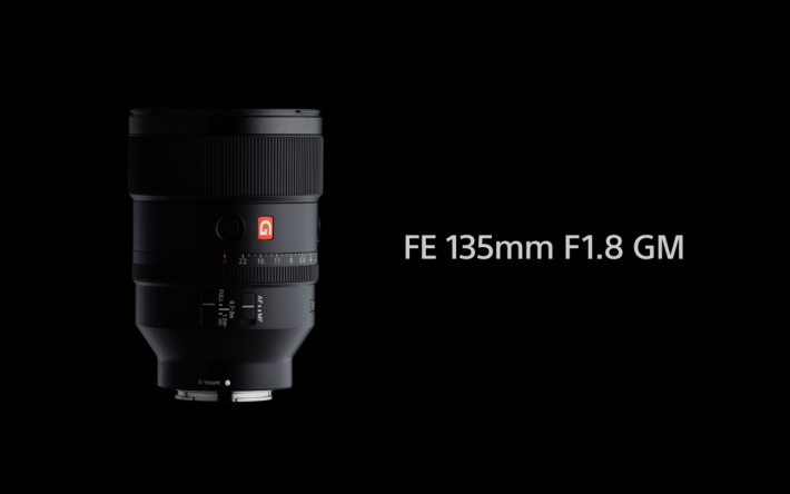 Sony FE 135mm F1.8 G Master