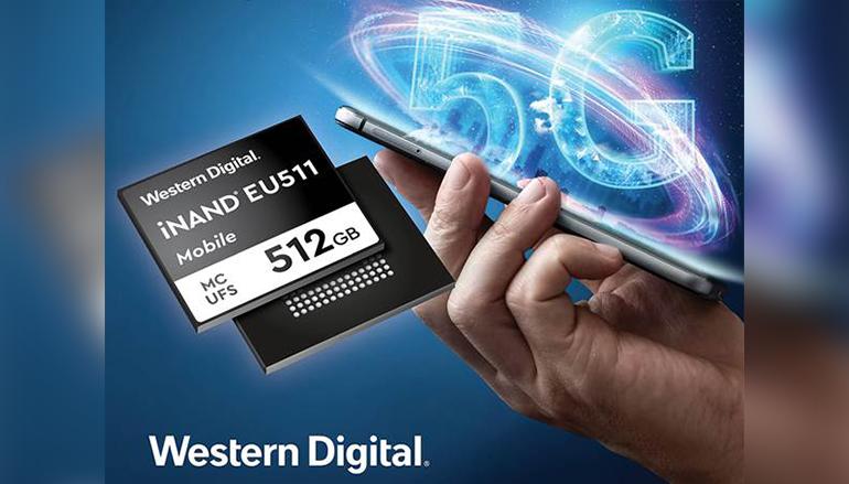 為 5G 作準備 Western Digital 發表 UFS 3.0 嵌入式快閃記憶體