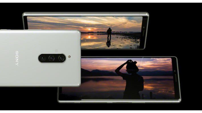 Xperia 1 採用 Sony BRAVIA X1 同級的電視顯示技術