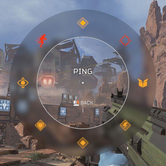 8 款不同的標記用來提醒不同狀況,當目標是敵人或物件時會有另有 2 款不同標記。