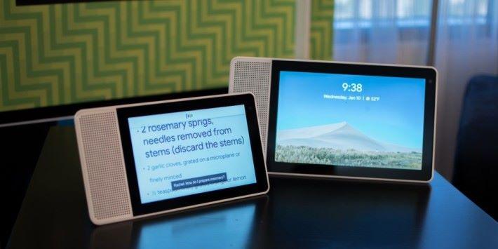 Lenovo 有推出過 Android Things 的智能顯示屏
