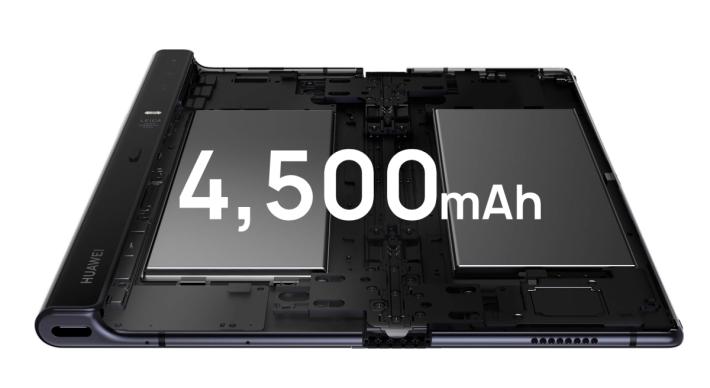 配備兩顆電池,合共提供 4,500mAh 電量。