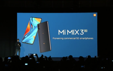 【MWC 2019】小米發布改版 MIX 3 5G 新機