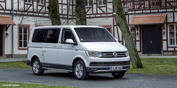 去年 Apple 宣布與德國車廠Volkswagen 合作,將 T6 小型客貨車改裝成自動駕駛車。