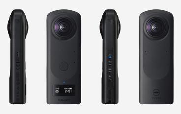 Ricoh 發表 Theta Z1 360 相機 1 吋 CMOS 支援 4K 拍片直播