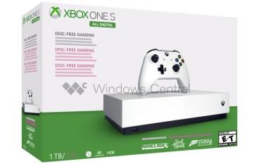 Xbox One S 無光碟機版情報進一步洩出 5 月 7 日全球發售
