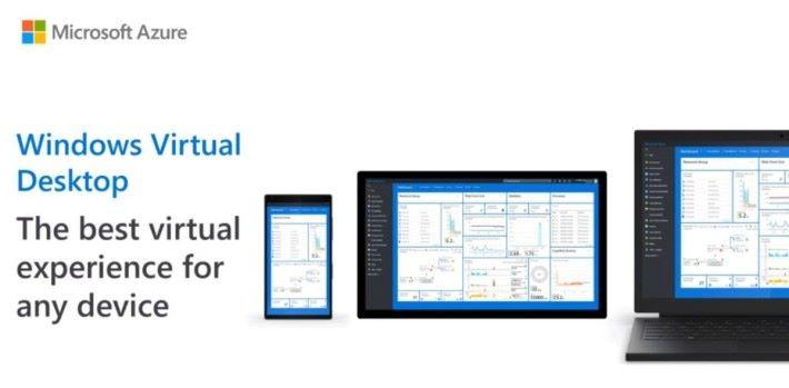 Windows Virtual Desktop 可以在手機、平板上使用 Windows 執行環境