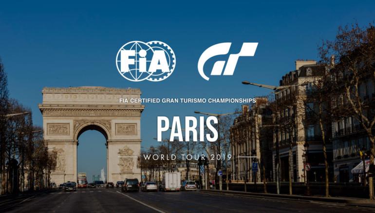 GRAN TURISMO Championships 2019 系列賽將於巴黎揭幕
