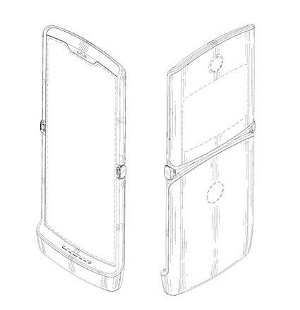 傳聞中 Samsung 正在開發的其中一款垂直翻揭摺屏手機,與 Motorola 已確認將推出的 RAZR 手機相似,預計 2019 年底至 2020 年初推出。