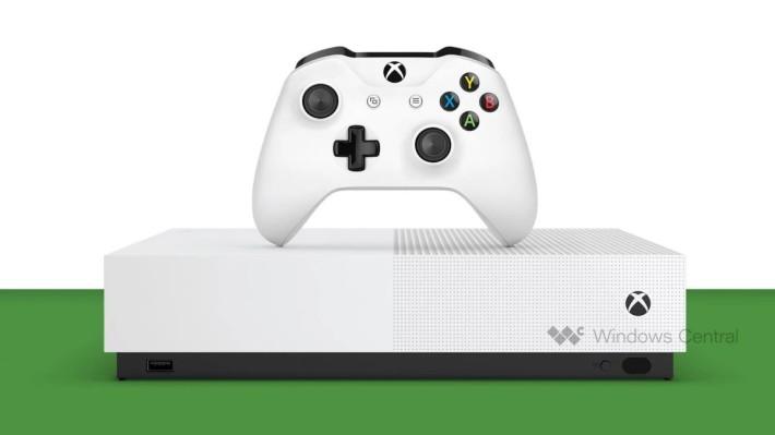 沒有光碟機的 Xbox One S 相信會成為最廉價的 Xbox One 系列主機(來源: Windows Central )