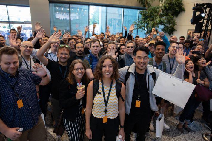 逾千名 Apple 開發人聚首一堂迎接 WWDC 30 周年