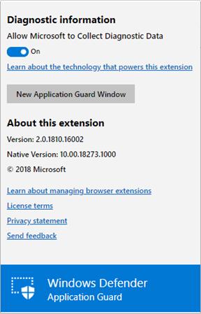 如果用戶想自行開啟隔離環境瀏覽器的話,可以按瀏覽器擴張功能圖示。